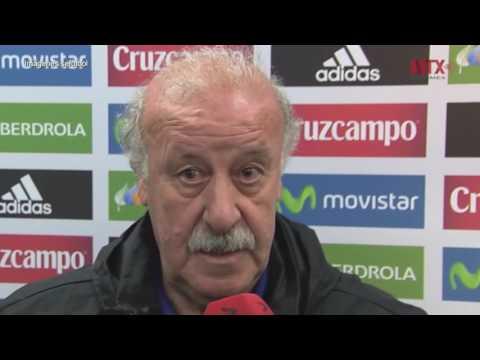 Técnico Vicente del Bosque renuncia como seleccionador de España