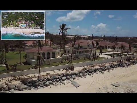 EXCLUSIVE: How Hurricane Irma devastated Donald Trump's $16.5m Caribbean estate