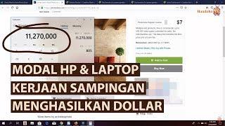 Peluang Bisnis Anak Muda Modal HP Android & Laptop | WOW BANGET