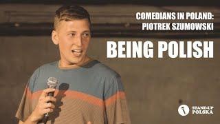 """Comedians in Poland: Piotrek Szumowski """"Being Polish"""" - polskie napisy"""