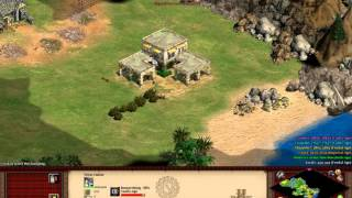 Age of Empires 2 HD TAK - Tariq ibn Zivad 1 Speedrun 23.04 Hard