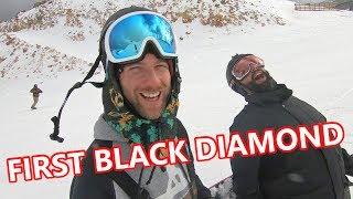 FIRST BLACK DIAMOND SNOWBOARDING