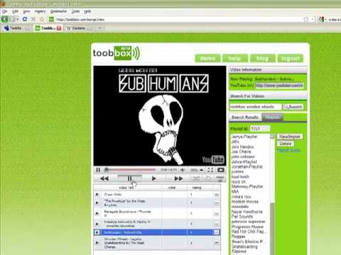 ToobBox.com Myspace App FAQ Tutorial Video