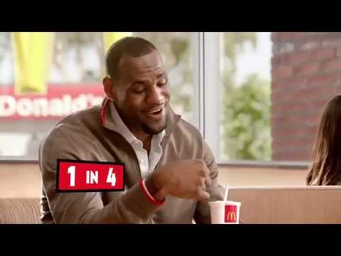 New McDonald's Monopoly Commercial featuring LeBron James