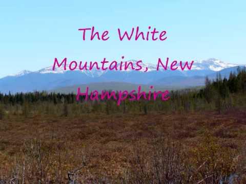 White Mountains of New Hampshire scenery and wildlife