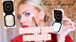 💎 NEW TOO FACED DIAMOND LIGHT HIGHLIGHTER 💎 | First Impressions & Demo