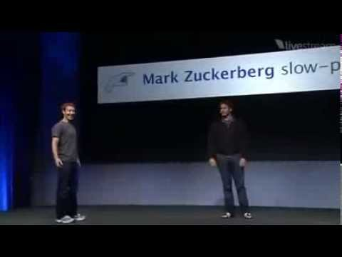 Funny F8 Keynote Introduction by Andy Samberg Pretending Mark ZuckerBerg