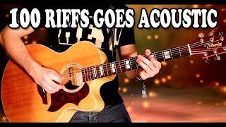 Top 100 Rock Riffs Go Acoustic!