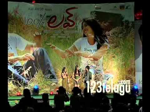 100% Love Audio Launch Part 1 - 123telugu - Naga Chaitanya, Tamanna video