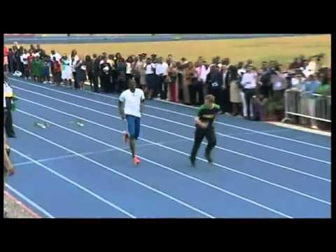 Prince Harry Races Usain Bolt And Wins