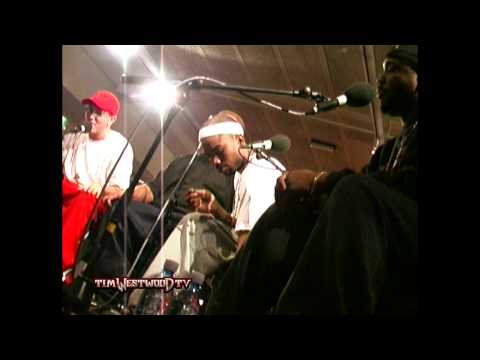 Westwood - Eminem &amp; D12 freestyle FULL LENGTH VERSION - backstage in London 2001