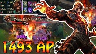 ~1500 AP BRAND - Damage Test + German Gameplay