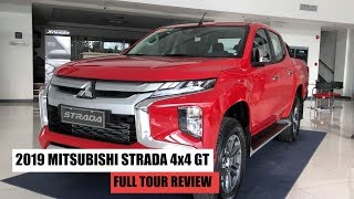 2019 ALL NEW MITSUBISHI STRADA 4x4 GT || FULL TOUR REVIEW