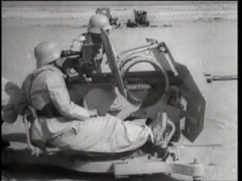 Artillery -  German anti - aircraft guns of WW2