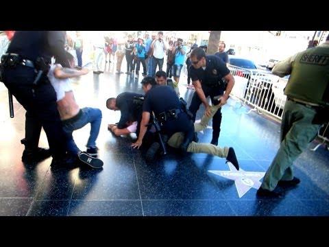 Prankster Gets Arrested!! video