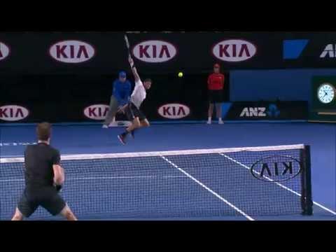 Thriller: Andy Murray v Grigor Dimitrov - Australian Open 2015