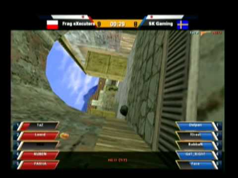 e-stars Seoul 2011 Grand Finals Frag Executors vs SK Gaming Map 2