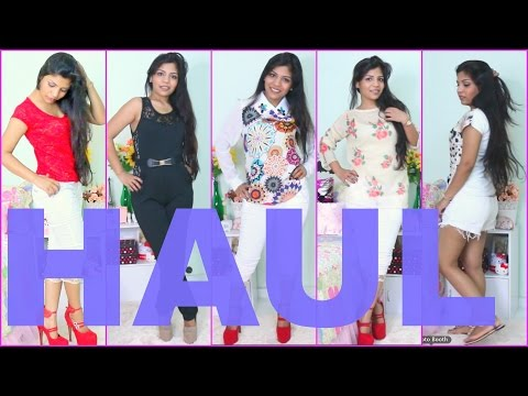 Huge Collective Haul And Try On,summer Fashion,clothes,shoes,bags,singapore Superprincessjo