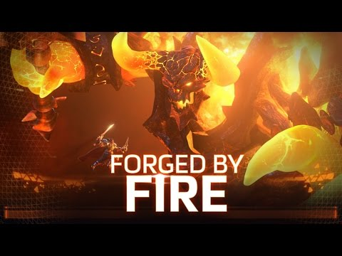 Forged by Fire: Heroes of the Storm BlizzCon 2016 Hero Trailer