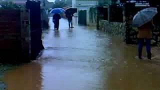 comienzo de las 2 inundaciones en villafranca de córdoba