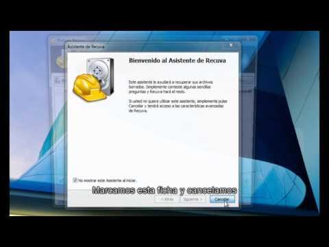 Recuperar archivos borrados con recuva.instalacion.uso