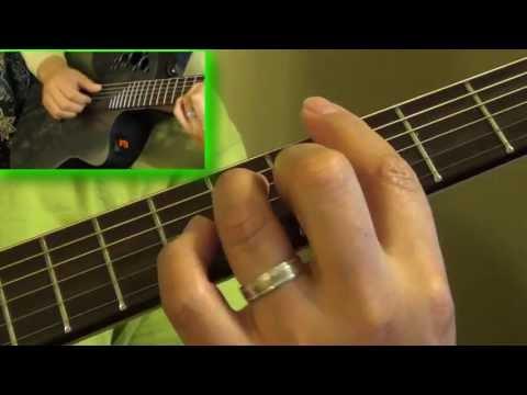 Guitar Tutorial - On The Beach - Chris Rea
