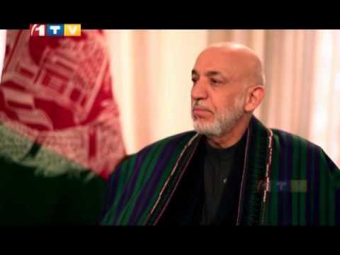 گفتوگوی ویژه با حامدکرزی  Special Interview with Hamid Karzai