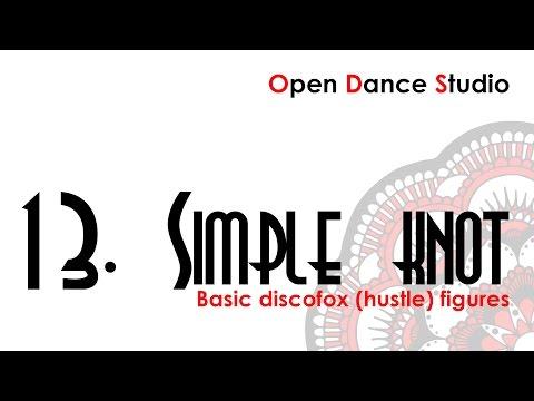 discofox figures 13. Simple knot - каталог фигур дискофокса - веревочка