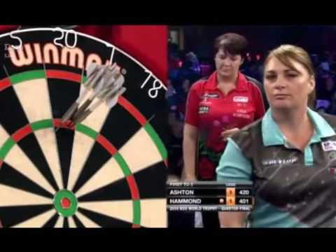 The First Ever 98+ Ladies Average in a Darts Match - 2016 BDO World Trophy
