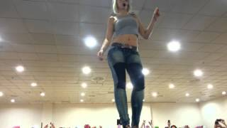 Sara López- kizomba lady style-Feeling-Madrid 2015