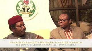His Excellency Engr.Patrick Ekpotu, The Deputy Governor of Akwa Ibom State3