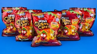 Five Grossery Gang Mystery Packs Mini Corny Chips