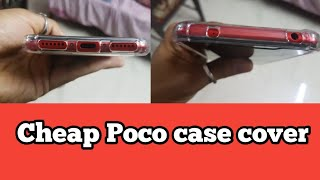 Cheap and durable case for Poco F1 Unboxing(pocophone F1)
