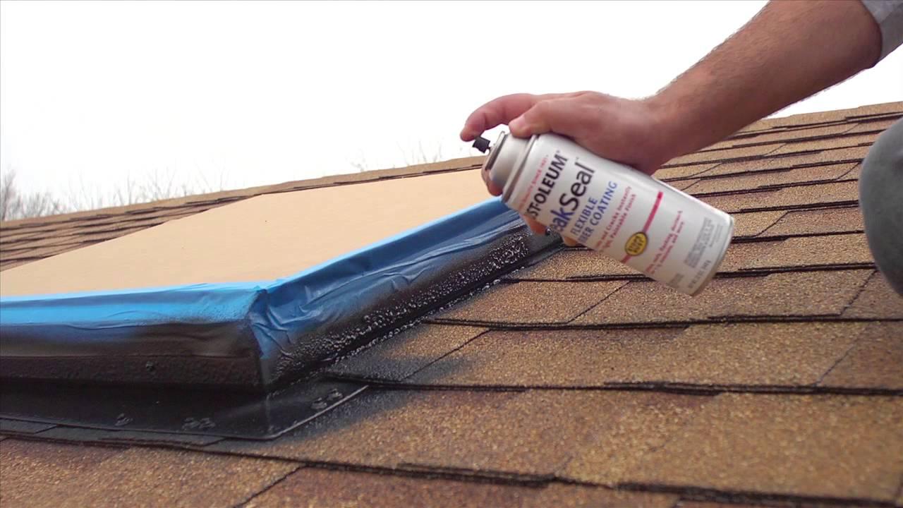 benefits of rust oleum leak seal flexible rubber coating youtube. Black Bedroom Furniture Sets. Home Design Ideas