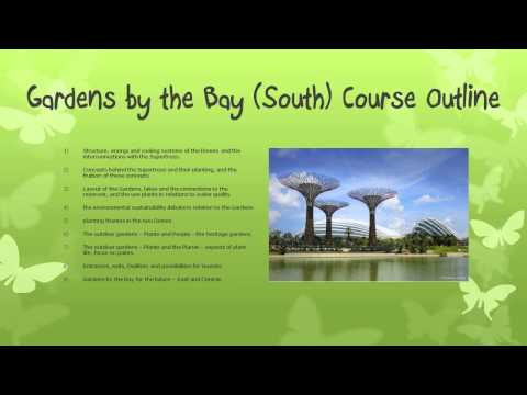 Gardens by the Bay (South) Training Programme for Tourist Guides in Singapore