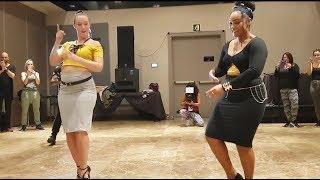 Isabelle Crepin & Adeline, Kizomba Lady Styling @ Kizomba Open Festival 2018