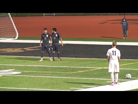 No. 20 New Brunswick vs South Brunswick High School Boys Soccer 10-19-15