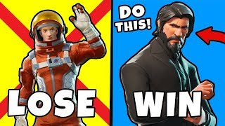 5 Reasons Your Not WINNING in Fortnite ~ Fortnite Battle Royale Top 5