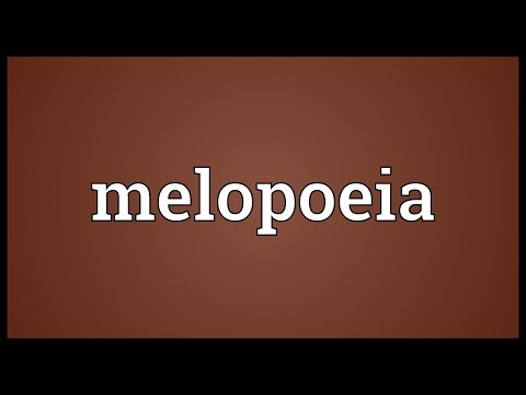 Header of Melopoeia