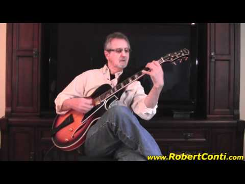 Jazz Guitar - Danny Boy by Jesse Johnson on his Conti Guitar