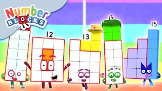 Numberblocks NEW EPISODES LIVE! Learn to Count