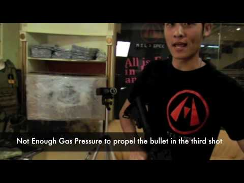 G&P AGM Bomber GHK Gas Blowback Magazine Stress Test - Extreme Cold Temperature