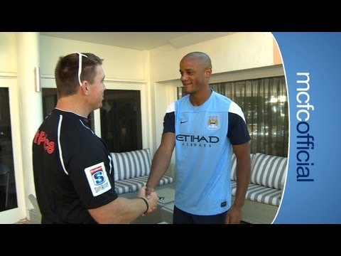 City in South Africa: Vincent Kompany meets John Smit