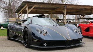 Goodwood Track Day, Zonda, Ferrari, Lamborghini accelerations