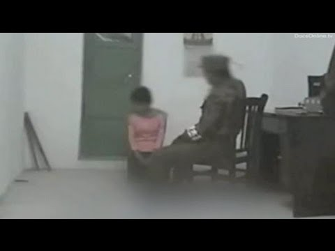 North Korea - Woman abused by official