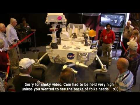 NASA's Rover Curiosity - Up Close - JPL, Pasadena