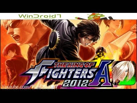 The King of Fighters 2012 Version Ingles // Todos los personajes desbloqueados