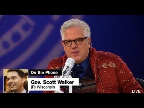 Scott Walker to Glenn Beck: My Soul is Well