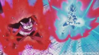 Goku Vs Bergamo ENGLISH DUB HD