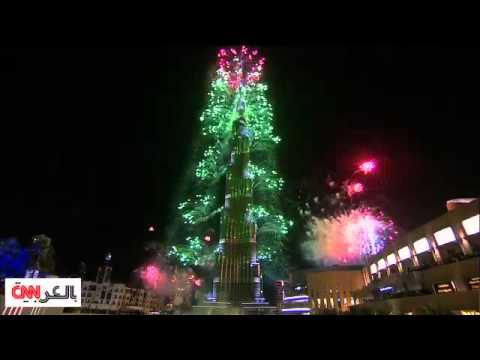 احتفال رأس السنة 2014 الأضخم في دبي والألذ بلندن